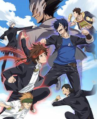 アニメ『学園BASARA』はNetflix・Hulu・U-NEXT・dTVどれで配信?