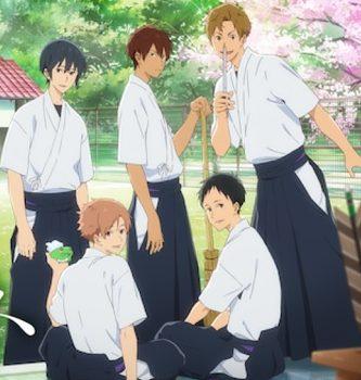 アニメ『ツルネ -風舞高校弓道部-』はNetflix・Hulu・U-NEXT・dTVどれで配信?