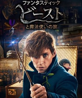 映画『ファンタスティック・ビーストと魔法使いの旅』はNetflix・Hulu・U-NEXT・dTVどれで配信?