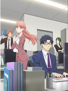 アニメ『ヲタクに恋は難しい』はNetflix・Hulu・ビデオパス・dTVどれで配信?
