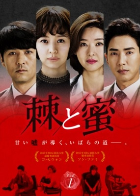 韓国ドラマ『棘と蜜』はNetflix・Hulu・U-NEXT・dTVどれで配信?